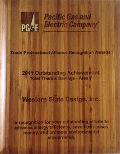 Western State Design, Inc. Receives Trade Professional Alliance Recognition Award