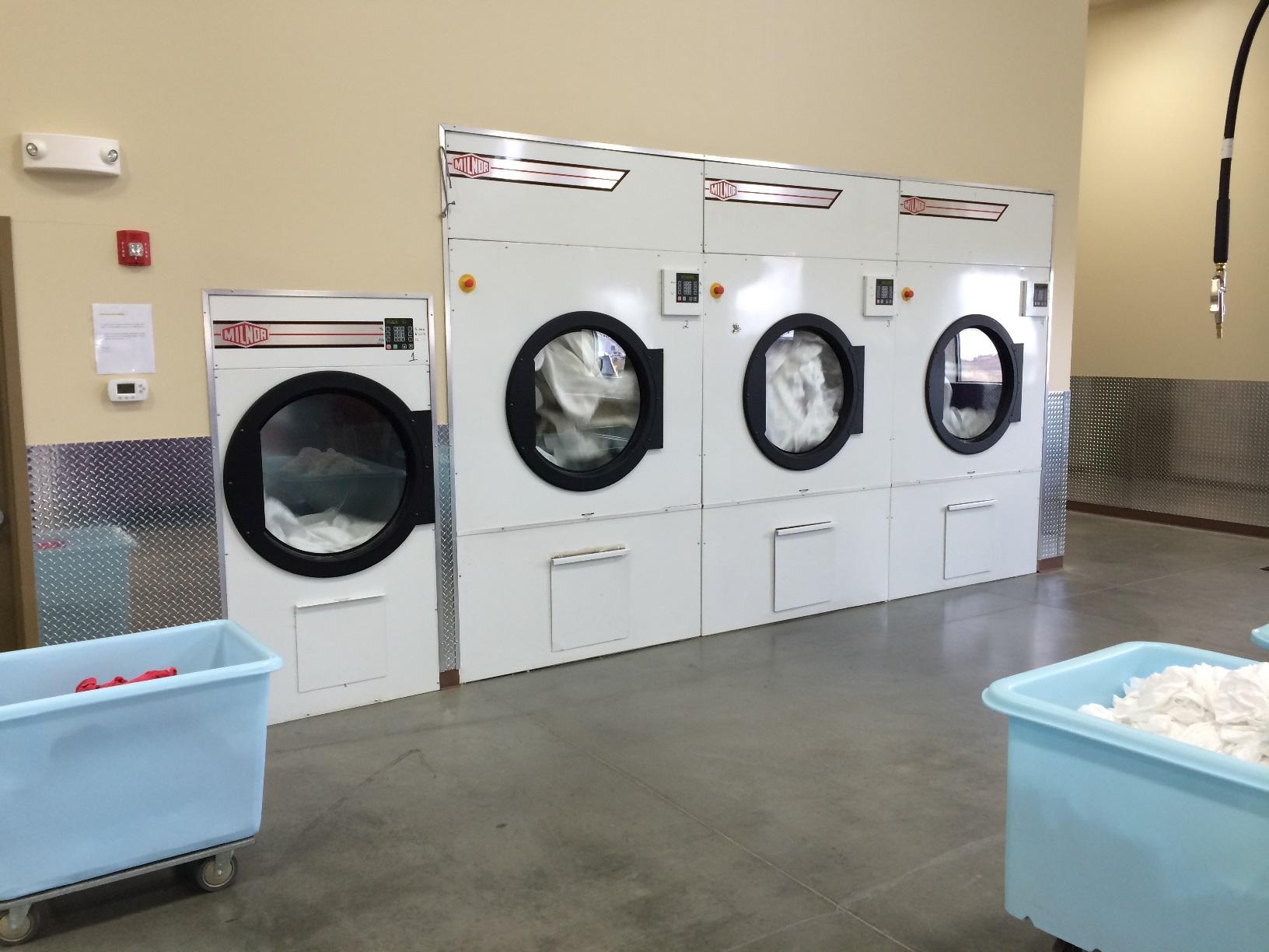 milnor laundry machine