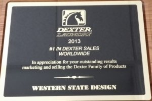 Western State Design Leads the World in Dexter Sales