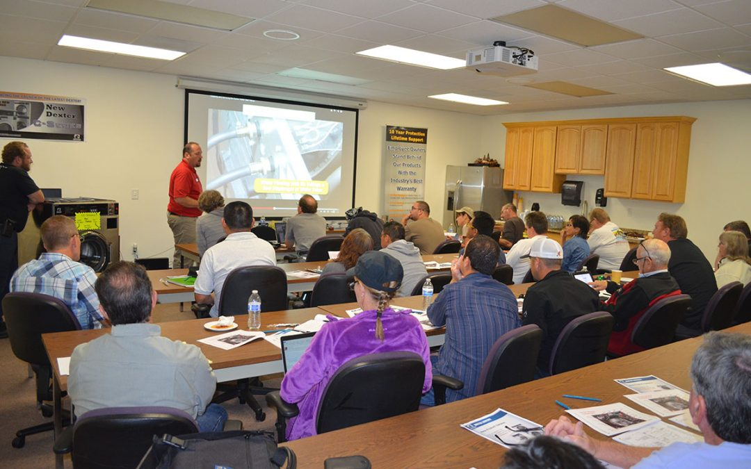WSD to Host Dexter Laundry Service Training Seminars Fall 2017