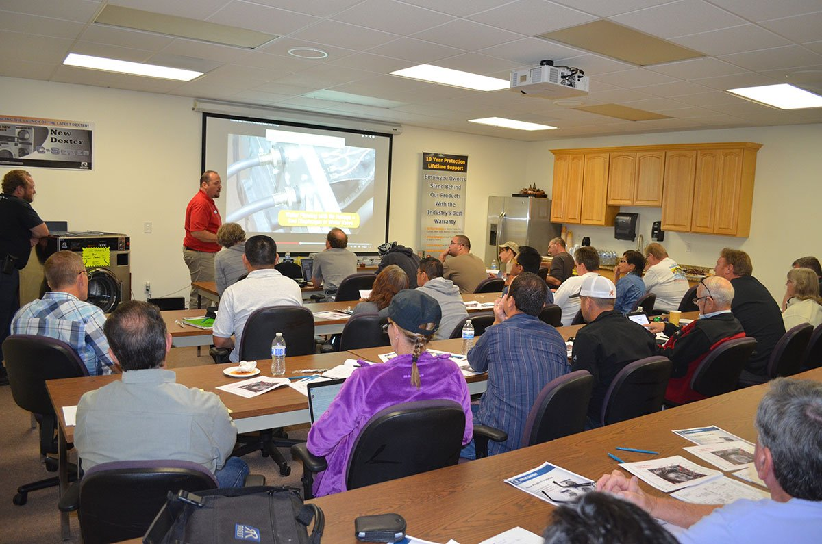 Wsd Holds 2 Dexter Service Schools For Coin Op Training In