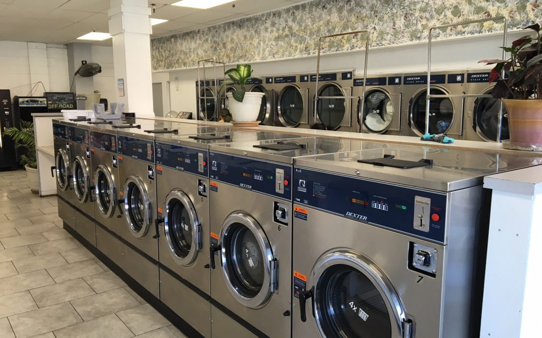 Sudz Coin Wash of Linda Vista Remodels with New Dexter Laundry Equipment