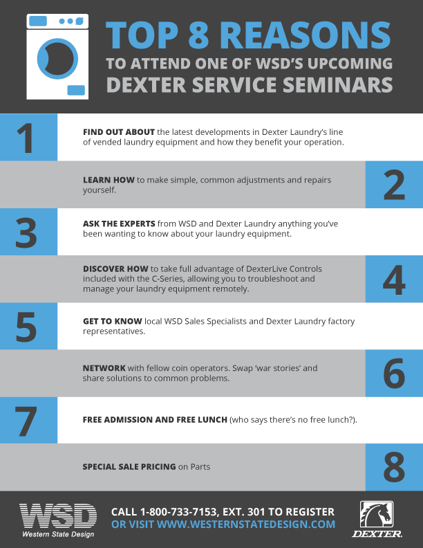 Dexter Laundry Service Seminar