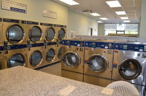 second career in the coin operated laundry business