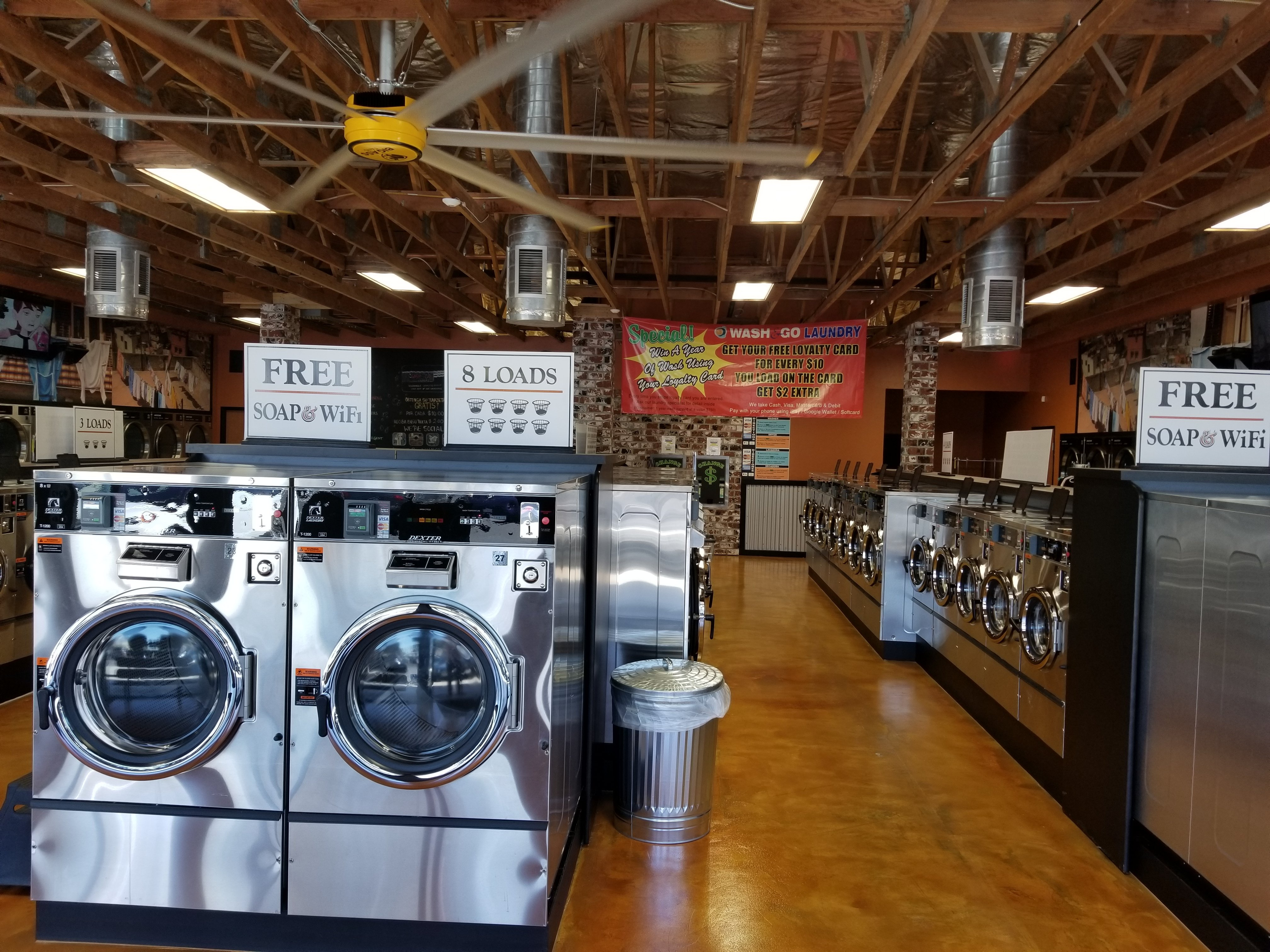 How to succeed in the coin op laundry business - Western ...