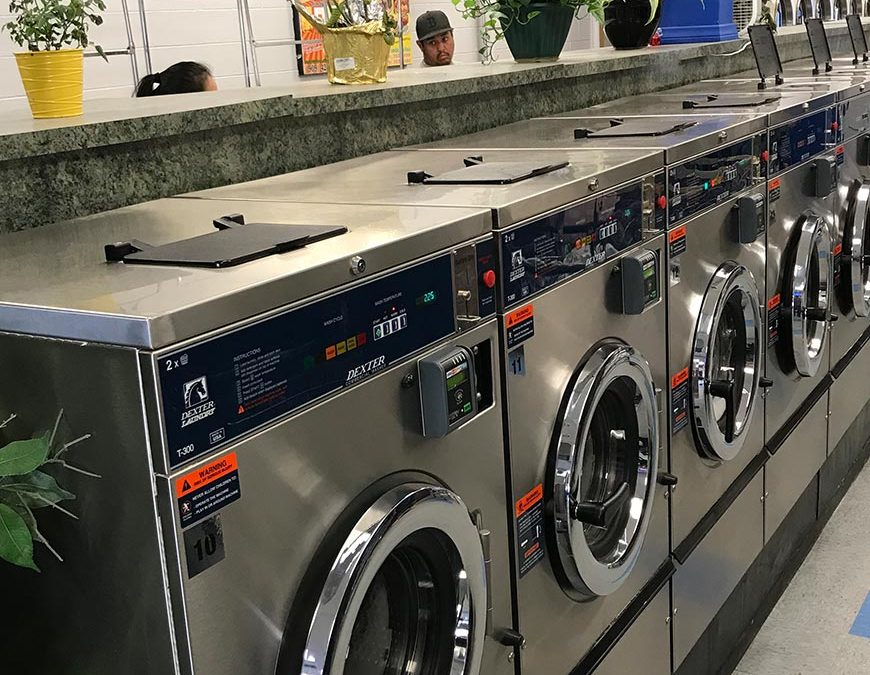From Banking to Success in the Coin Laundry Business