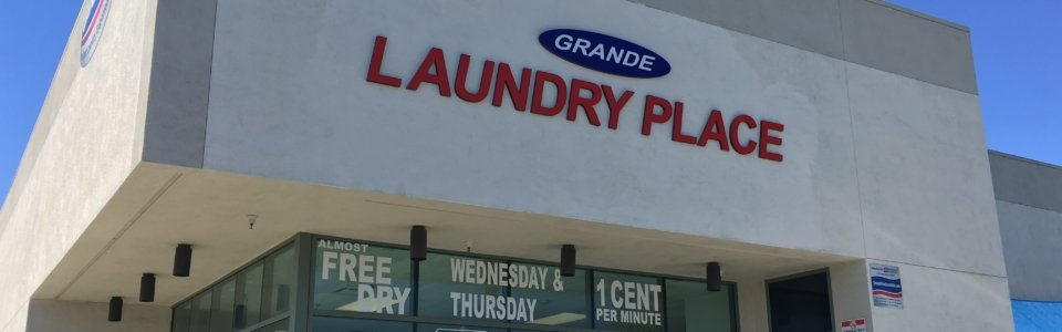 'State of the Art Laundromats with Phenomenal Customer Service'