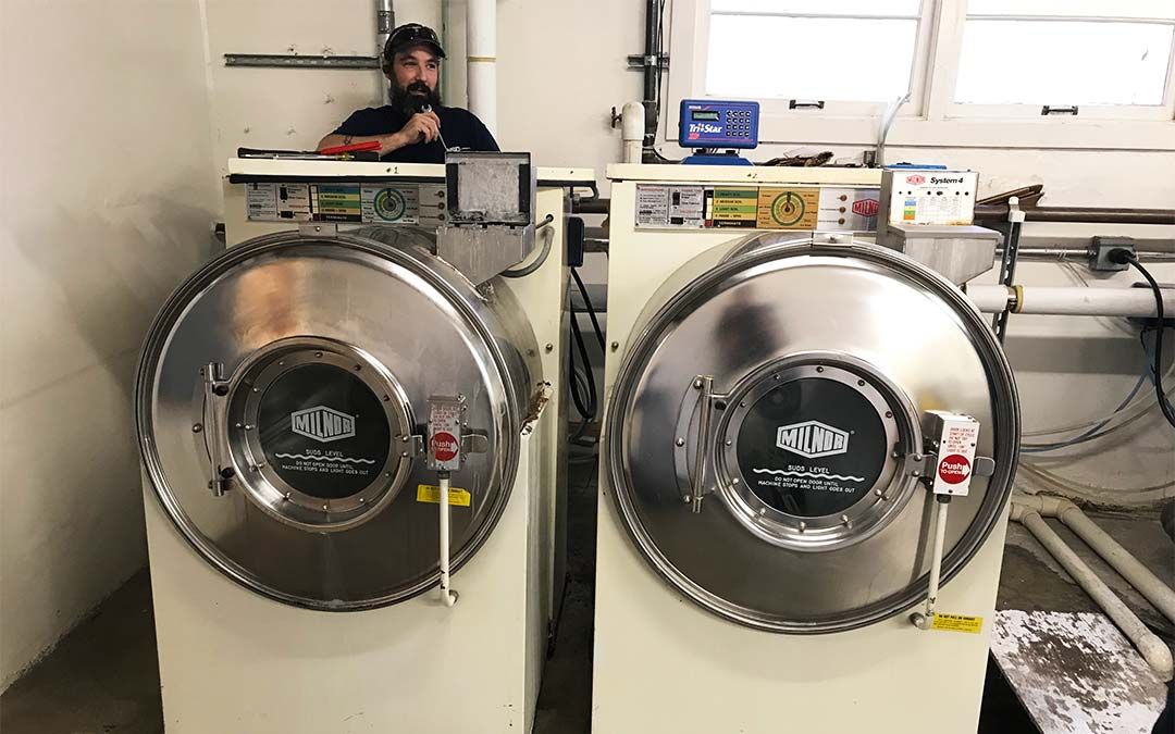 Milnor Commercial Washer-Extractors Are Built to Last (Here's Proof)