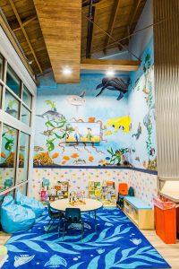 Olas Express Laundromat, Ventura, CA - kids nook