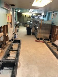Avalon Laundry - renovation in progress