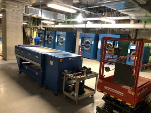 Milnor Washer Extractors at Thunder Valley Casino Resort