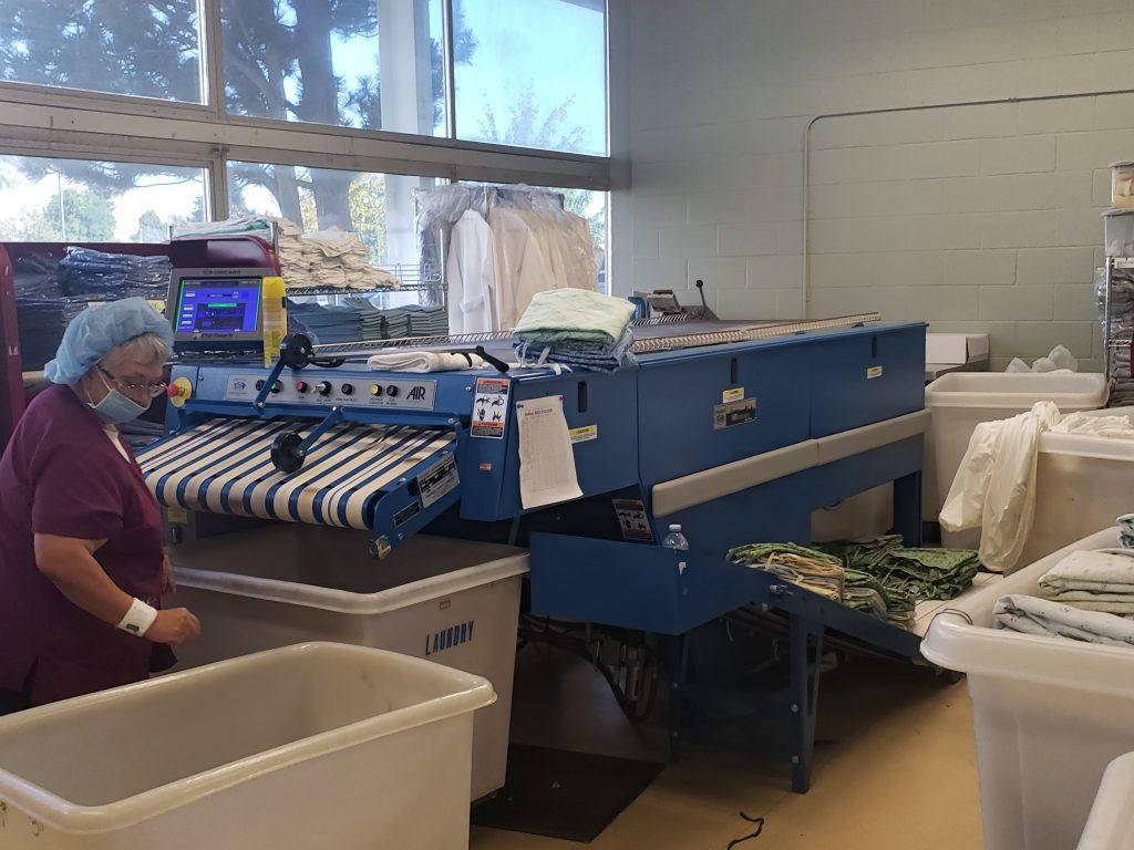 Chicago Dryer Ironer - Central Washington Hospital On-Premise Laundry