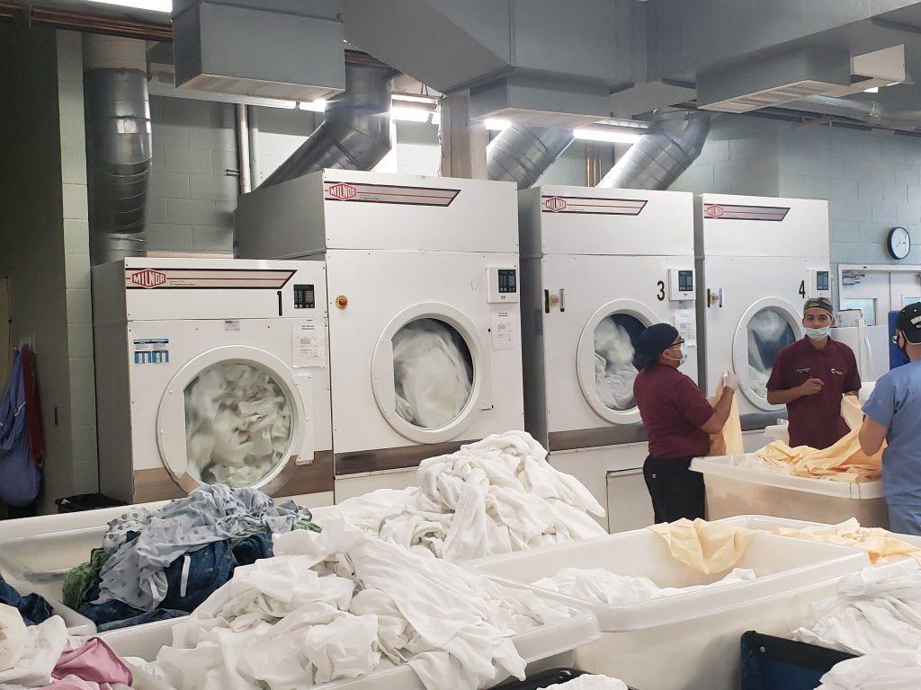 Milnor Dryers - Central Washington Hospital On-Premise Laundry