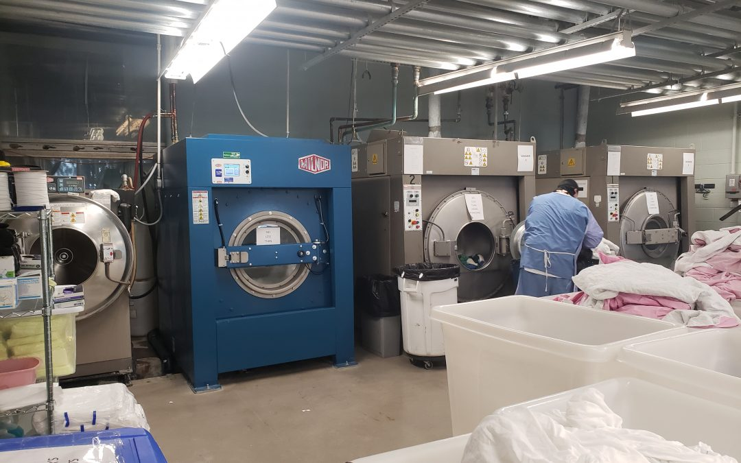 Busy, On-Premise Hospital Laundry Loves Its Milnor Washing Machines