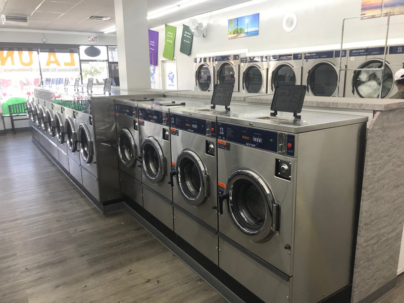 Dexter Laundry Commercial Washers - Super Wash Coin Laundr