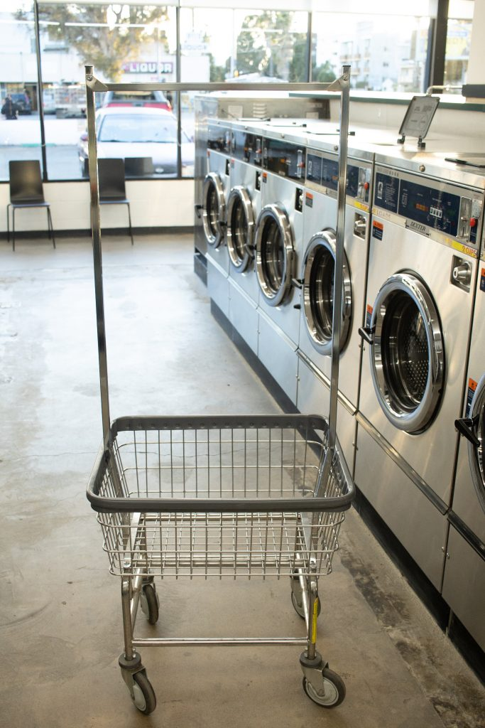 The Laundry Room, Culver City, CA - Dexter Washers & Laundry Cart