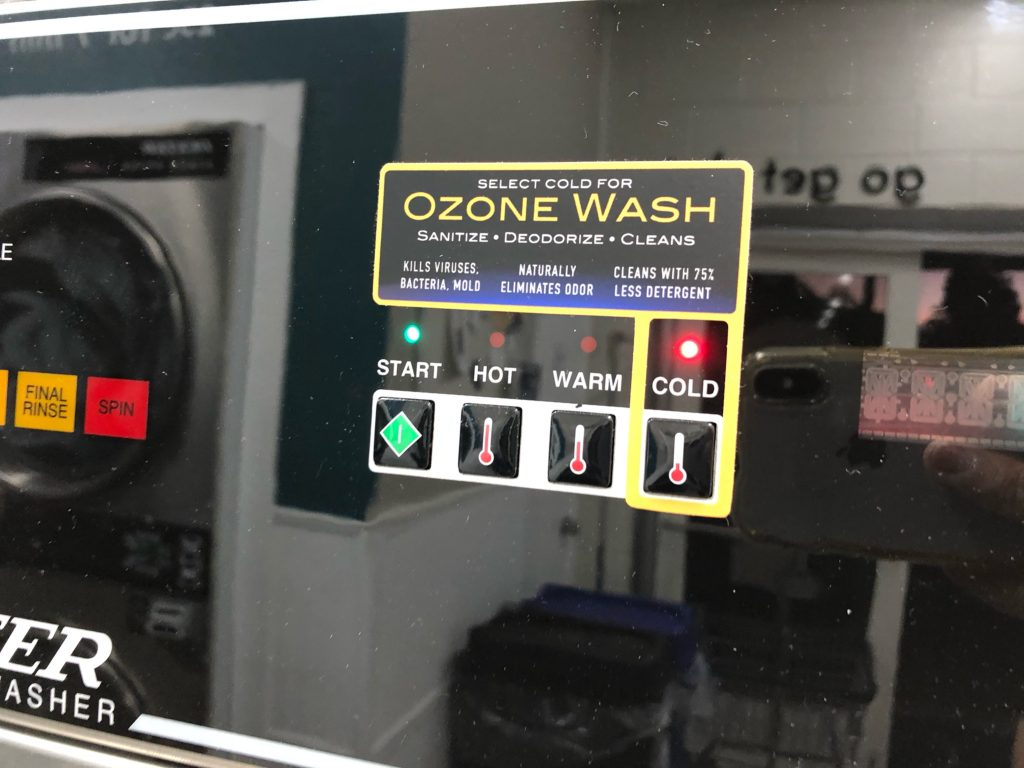 Ozone Laundry System - The Laundry Room, Seabright Santa Cruz - WSD Client