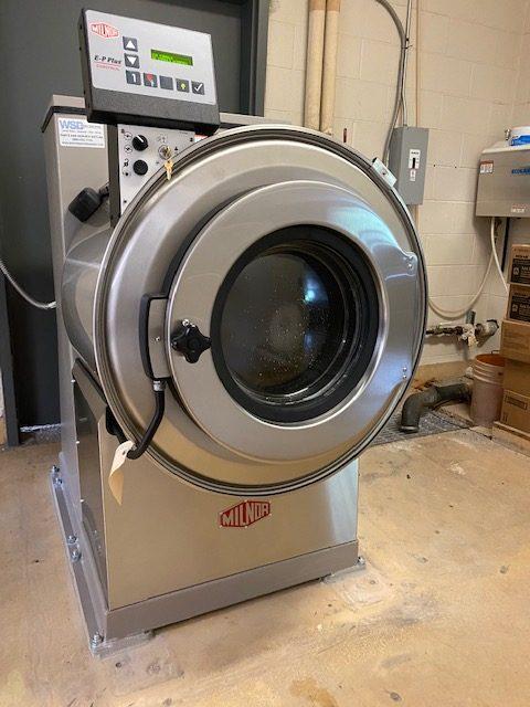 Hospital OPL Laundry Upgrades to Milnor Washer