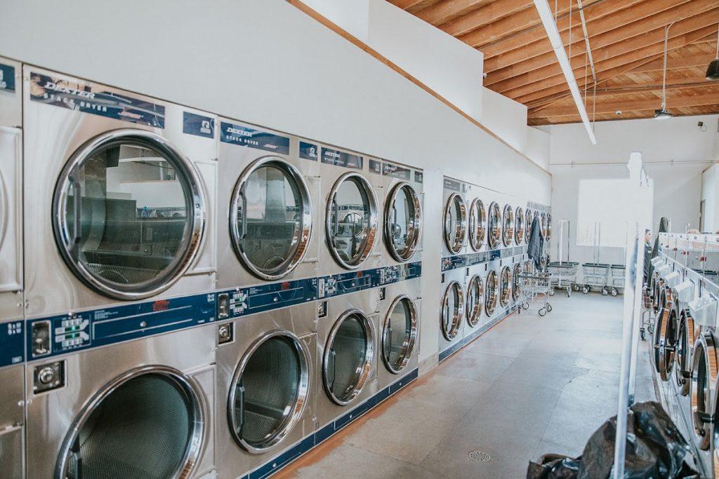 Neighborhood Laundry - Wall of Dexter Dryers